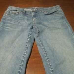 "Loft Modern Straight Jeans Size 27"" waist 28""insea"